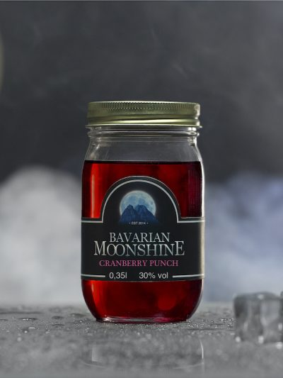 Bavarian Moonshine <br>Cranberry Punch
