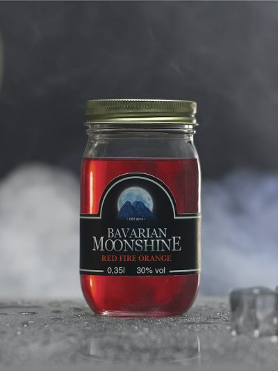 Bavarian Moonshine <br>Red Fire Orange